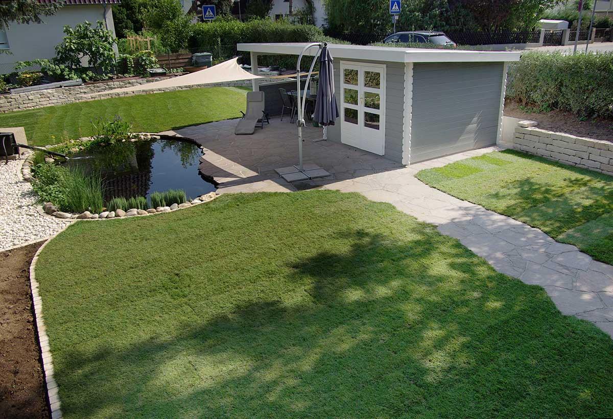 gartengestaltung (fam. krieg-sos) - innovartiv garten-und ... - Gartengestaltung Mit Holzterrasse